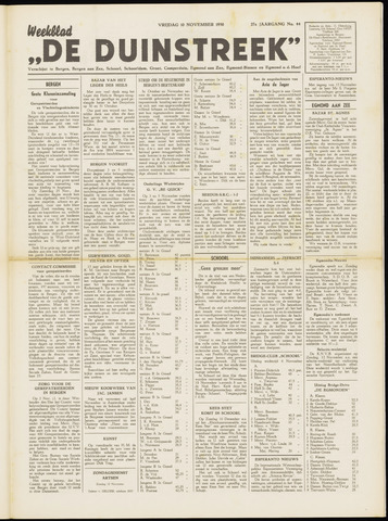 De Duinstreek 1950-11-10