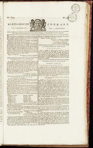 Alkmaarsche Courant 1834-08-04