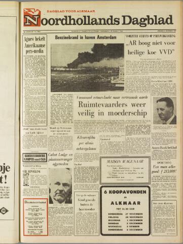 Noordhollands Dagblad : dagblad voor Alkmaar en omgeving 1969-11-21