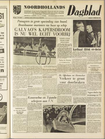 Noordhollands Dagblad : dagblad voor Alkmaar en omgeving 1961-02-03