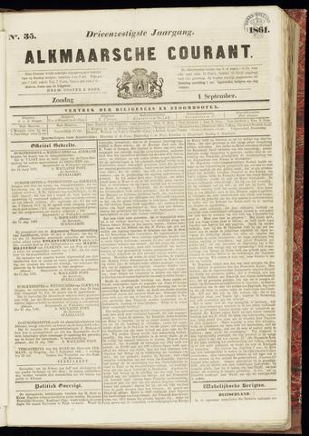 Alkmaarsche Courant 1861-09-01