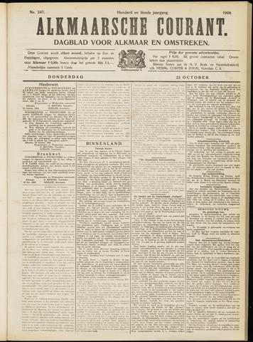 Alkmaarsche Courant 1908-10-22
