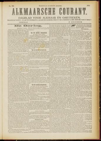 Alkmaarsche Courant 1915-12-17