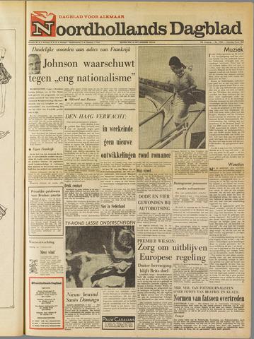 Noordhollands Dagblad : dagblad voor Alkmaar en omgeving 1965-05-08