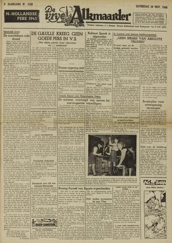 De Vrije Alkmaarder 1948-11-20