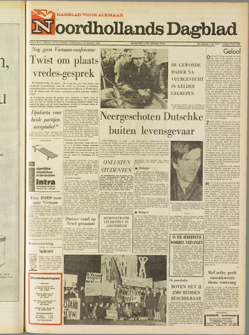 Noordhollands Dagblad : dagblad voor Alkmaar en omgeving 1968-04-12