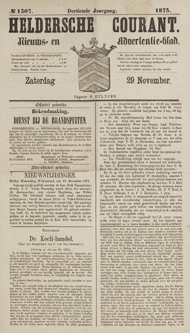 Heldersche Courant 1873-11-29