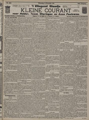 Vliegend blaadje : nieuws- en advertentiebode voor Den Helder 1910-11-16