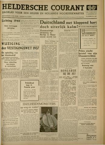 Heldersche Courant 1939-08-19