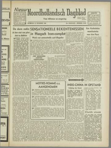 Nieuw Noordhollandsch Dagblad : voor Alkmaar en omgeving 1946-12-21