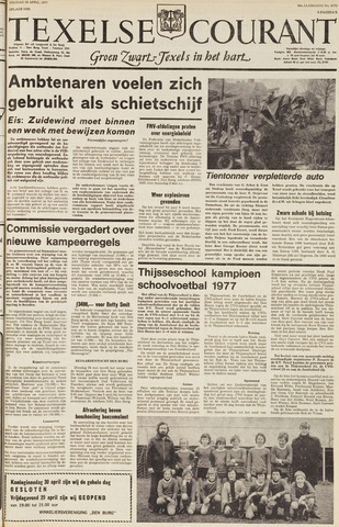 Texelsche Courant 1977-04-29