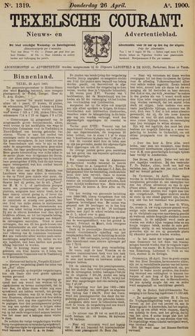 Texelsche Courant 1900-04-26