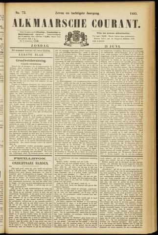 Alkmaarsche Courant 1885-06-21