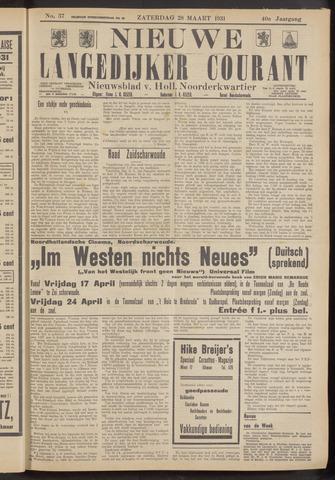 Nieuwe Langedijker Courant 1931-03-28