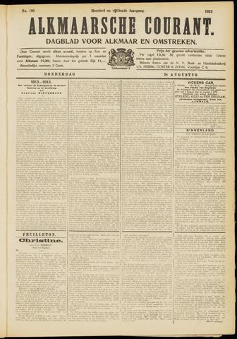 Alkmaarsche Courant 1913-08-28