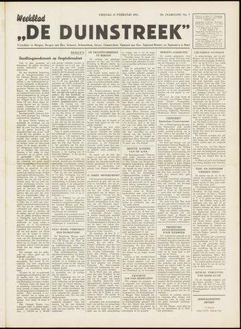 De Duinstreek 1952-02-15