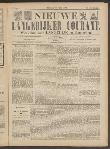 Nieuwe Langedijker Courant 1898-06-12