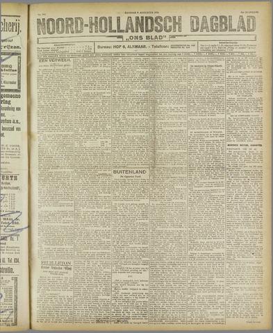 Ons Blad : katholiek nieuwsblad voor N-H 1921-08-09
