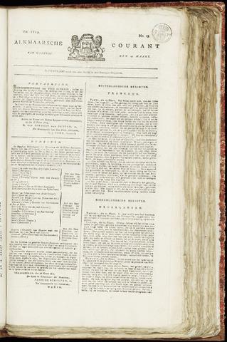 Alkmaarsche Courant 1819-03-29