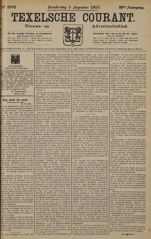 Texelsche Courant 1915-08-05