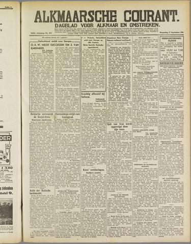 Alkmaarsche Courant 1941-09-17