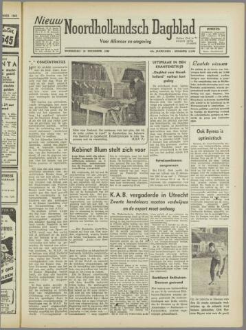 Nieuw Noordhollandsch Dagblad : voor Alkmaar en omgeving 1946-12-18
