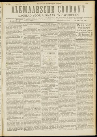 Alkmaarsche Courant 1919-12-15