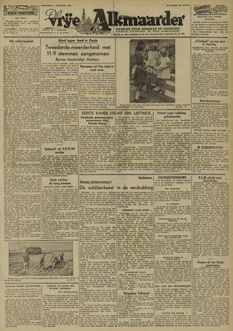 De Vrije Alkmaarder 1946-08-07