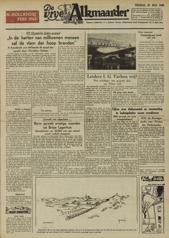 De Vrije Alkmaarder 1948-07-30
