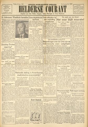 Heldersche Courant 1949-09-16