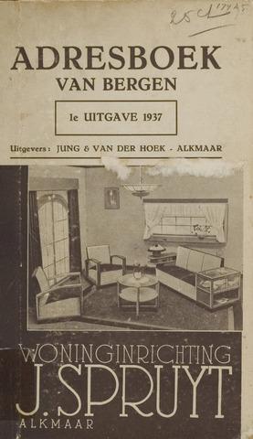 Adresboek van Bergen 1937-01-01
