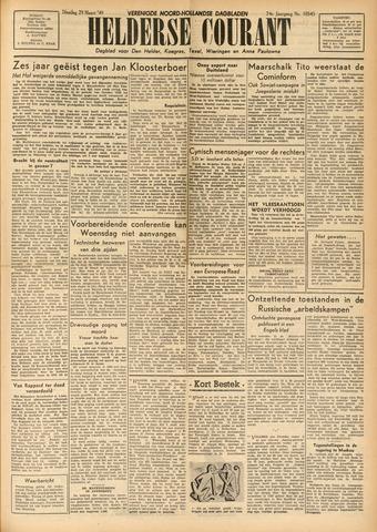 Heldersche Courant 1949-03-29