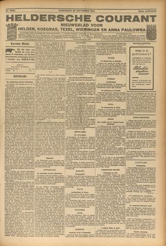 Heldersche Courant 1924-09-25