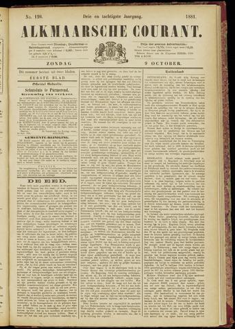 Alkmaarsche Courant 1881-10-09