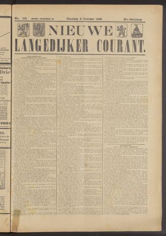 Nieuwe Langedijker Courant 1922-10-03