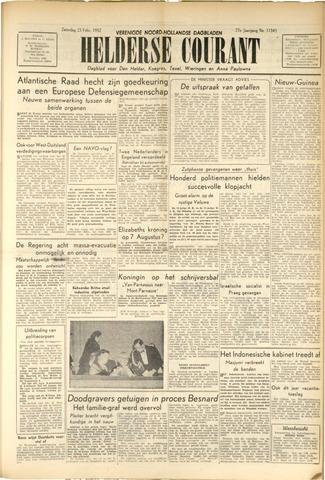 Heldersche Courant 1952-02-23