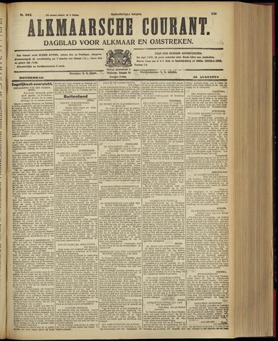 Alkmaarsche Courant 1928-08-30