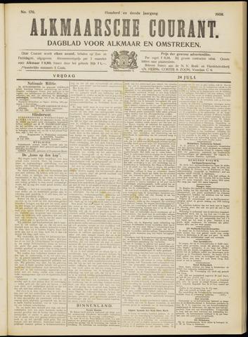Alkmaarsche Courant 1908-07-24