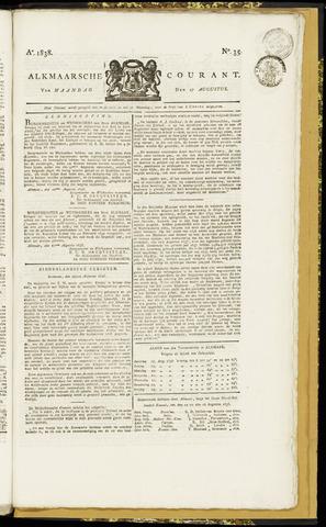 Alkmaarsche Courant 1838-08-27