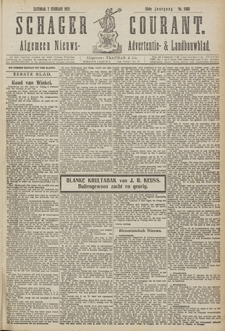 Schager Courant 1920-02-07