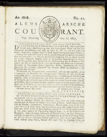 Alkmaarsche Courant 1808-05-23