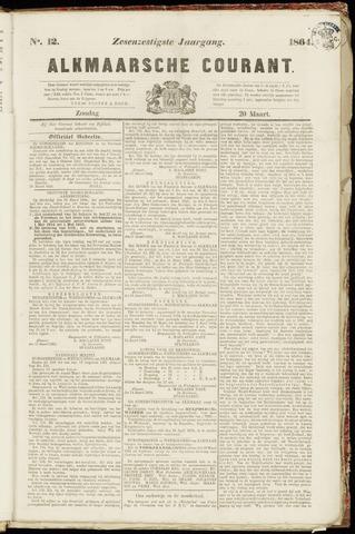 Alkmaarsche Courant 1864-03-20
