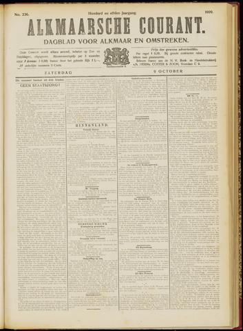 Alkmaarsche Courant 1909-10-09