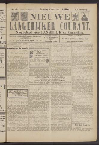 Nieuwe Langedijker Courant 1921-06-04
