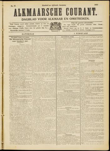 Alkmaarsche Courant 1913-02-01