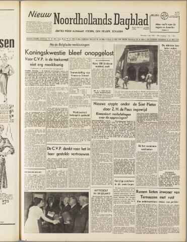 Nieuw Noordhollandsch Dagblad : voor Alkmaar en omgeving 1950-06-06