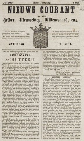 Nieuwe Courant van Den Helder 1864-05-14