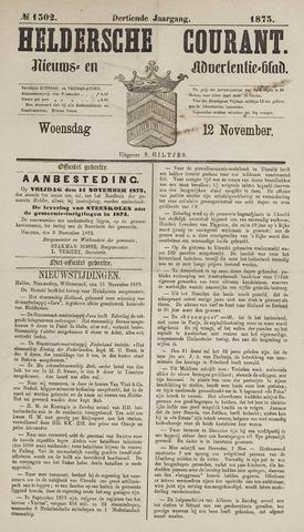 Heldersche Courant 1873-11-12