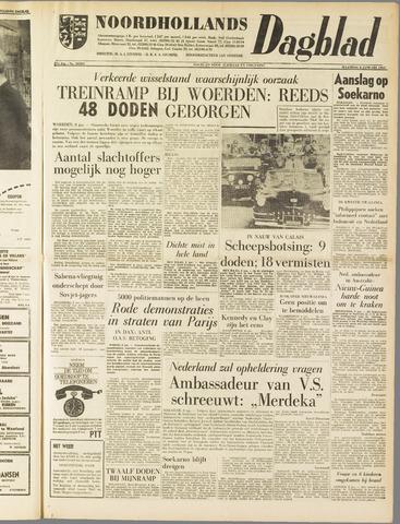 Noordhollands Dagblad : dagblad voor Alkmaar en omgeving 1962-01-08