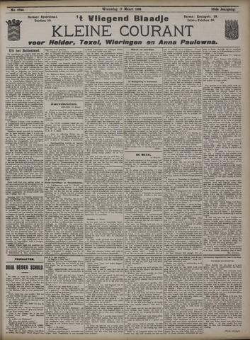 Vliegend blaadje : nieuws- en advertentiebode voor Den Helder 1909-03-17
